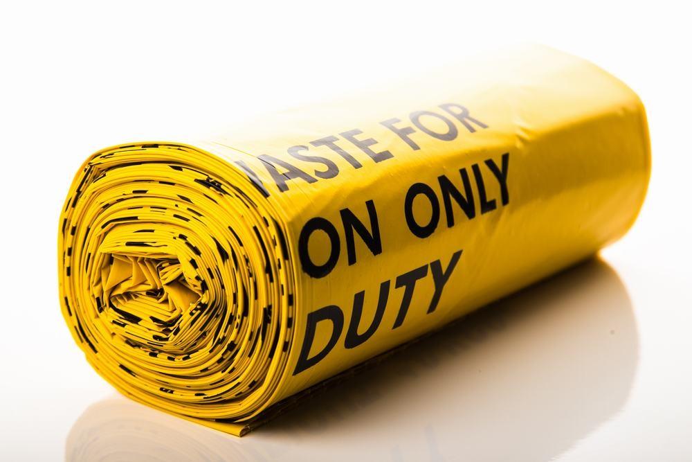 Yellow Waste Sack (50pcs)