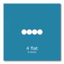 4 Flat (5 Pack)